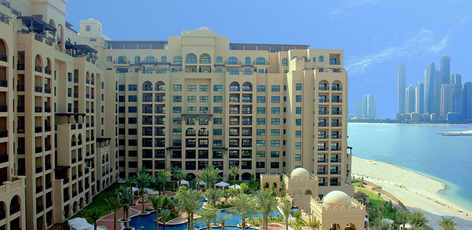 Fairmont residences at palm jumeirah in Dubai