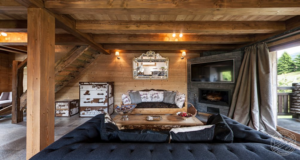 Chalet for sale in Megeve France Hallway