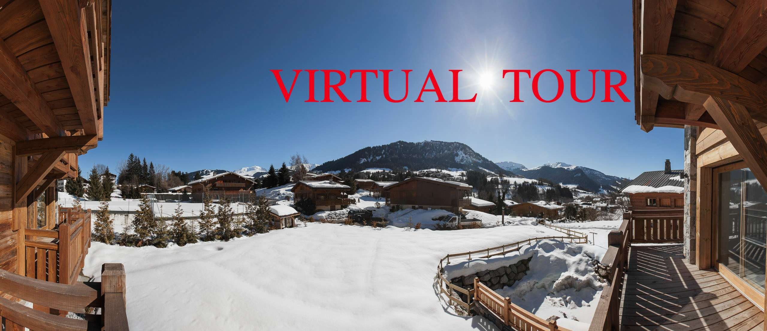 Holiday Chalet for rent at Megeve France Virtual tour