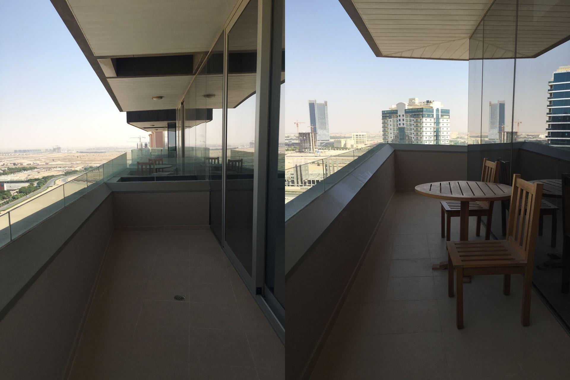 Balcony in studio-apartment for sale at The Matrix