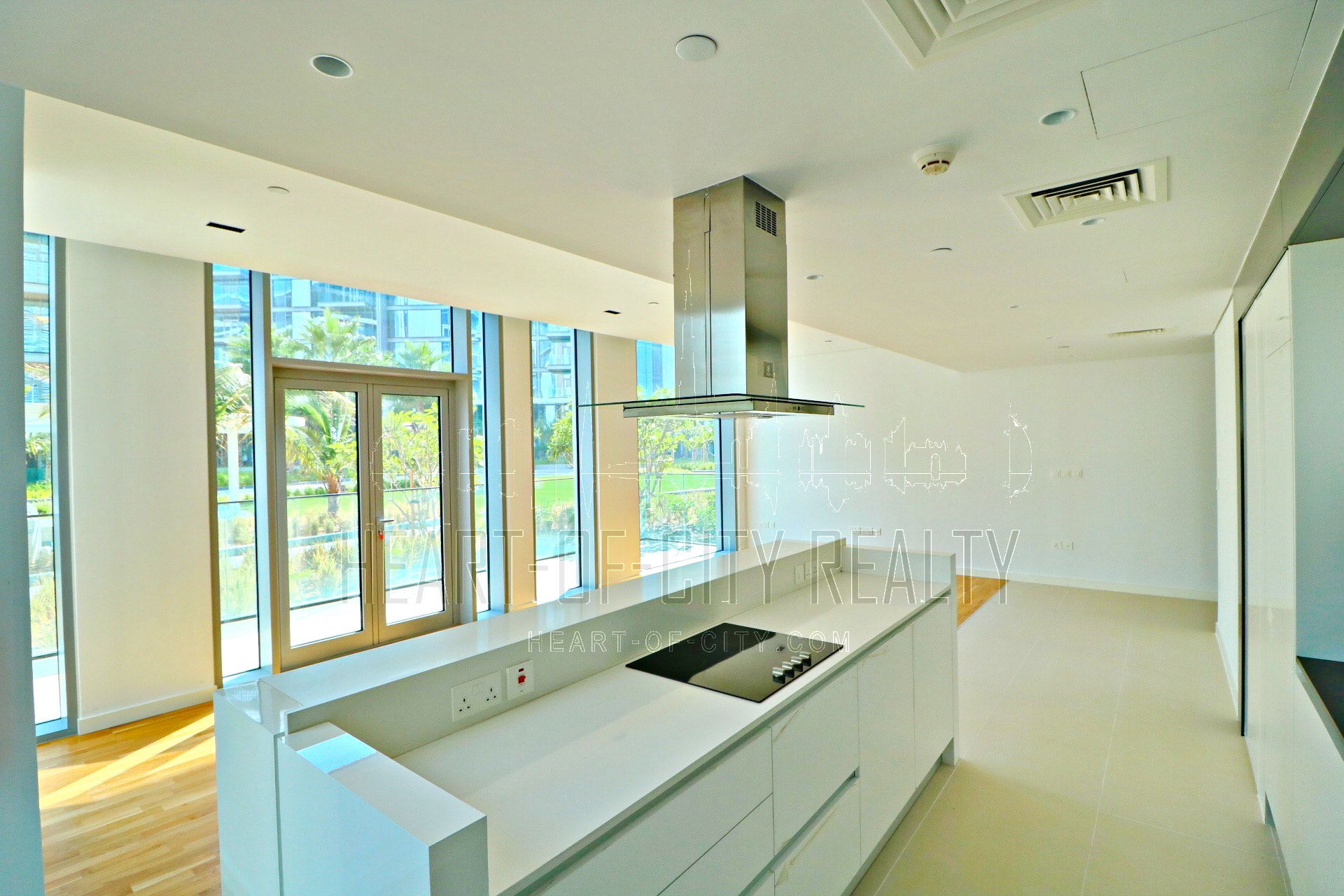 Living room in Apartment for sale at bluewaters island in Dubai