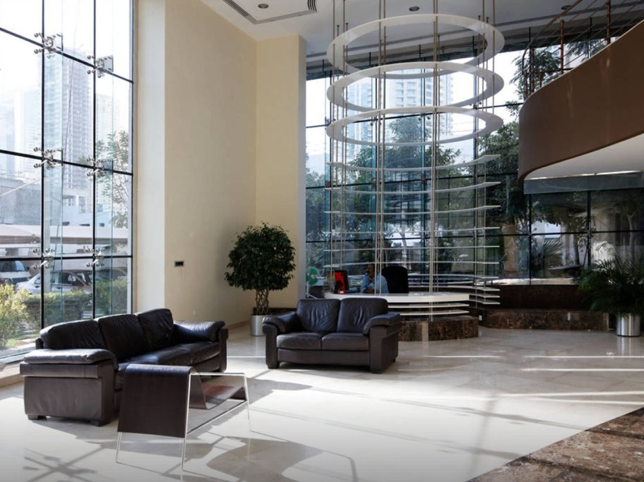 Lobby in Time Place Tower at Dubai Marina