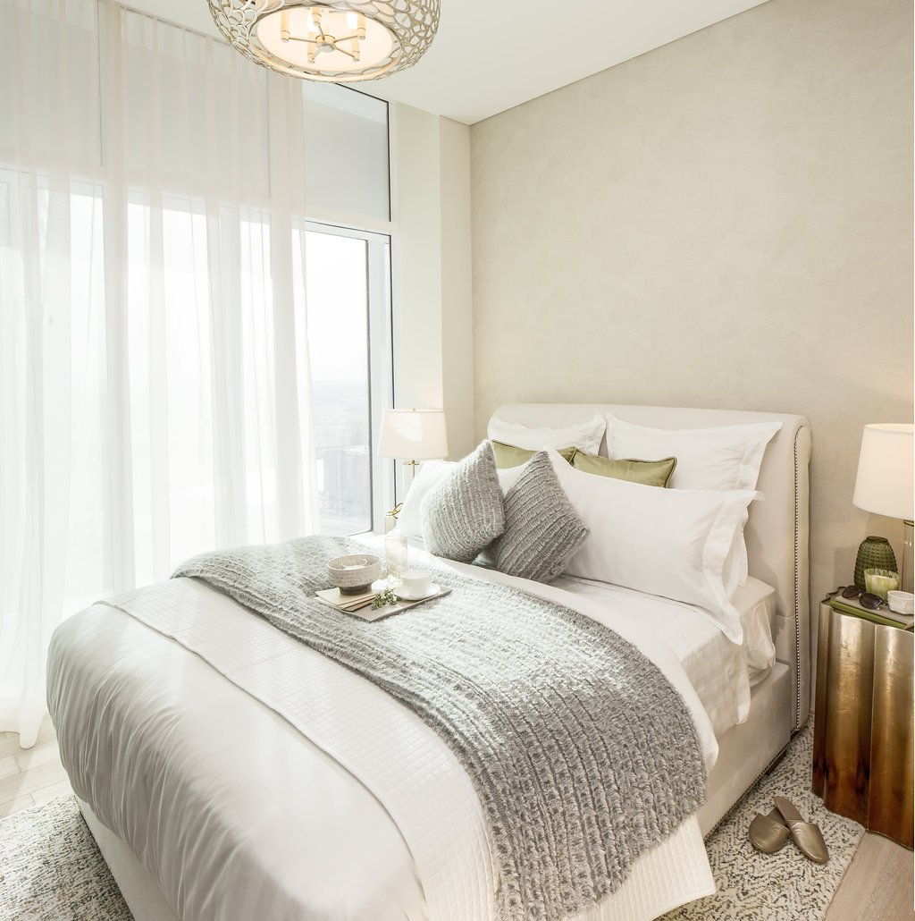 RP Heights at Dubai Dountown, Guest Bedroom