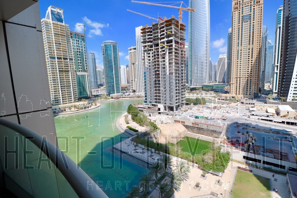 View from office in Preatoni Tower at JLT Dubai