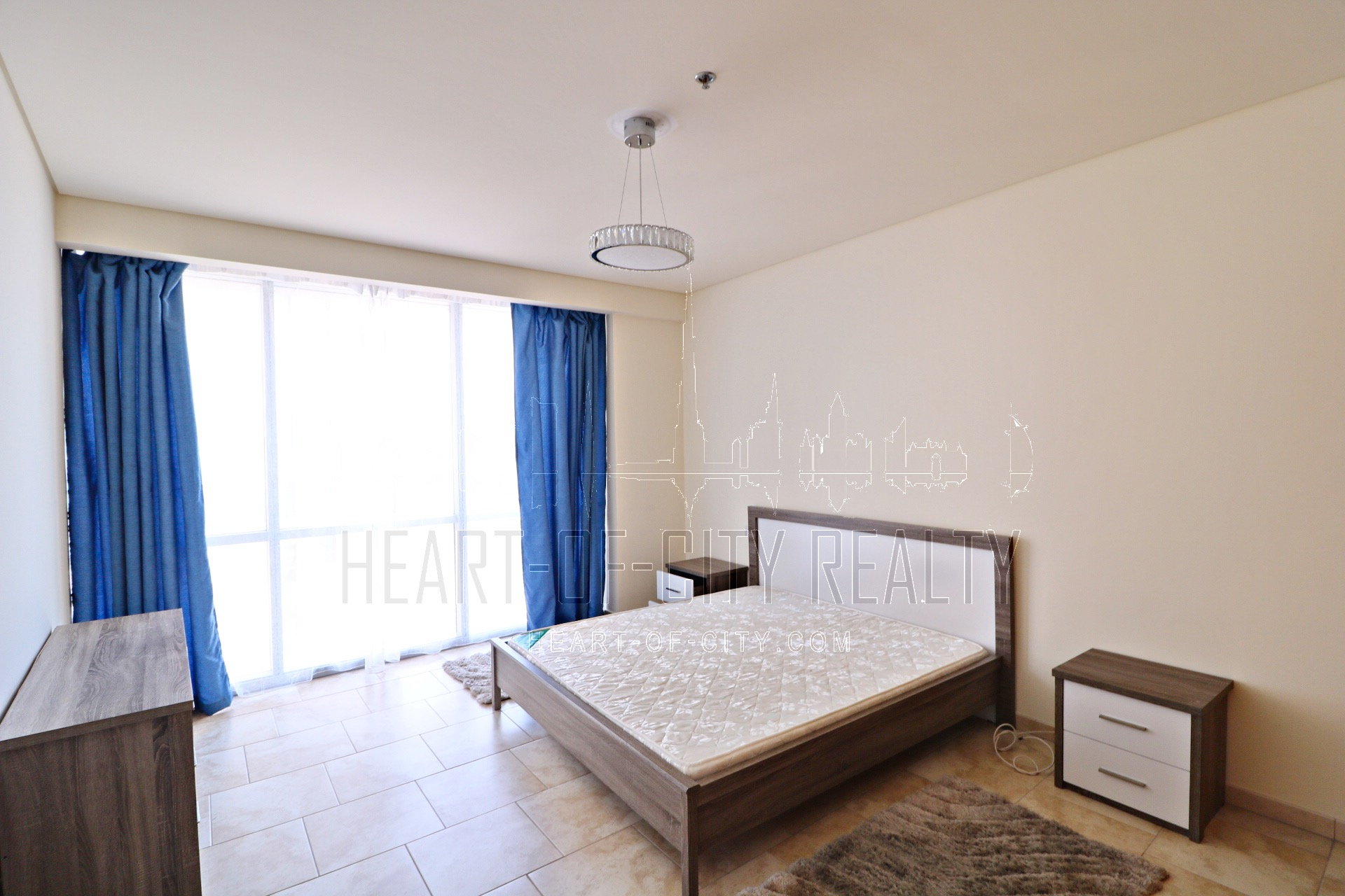 Bedroom in apartment for rent in Al Fattan at JBR Dubai