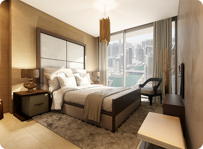 apartment for sale Marina Gate Dubai bedroom 3