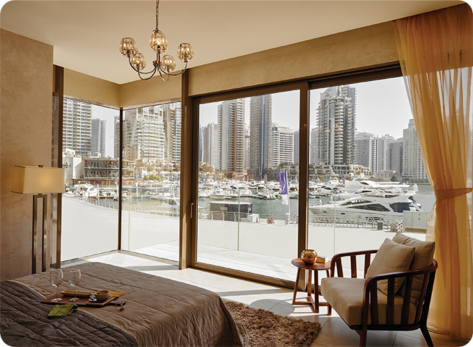 apartment for sale Marina Gate Dubai master bedroom