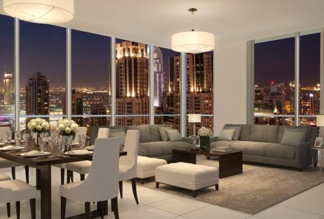 apartment for sale at BLVD Crescent T1 Downtown Dubai, Dining room