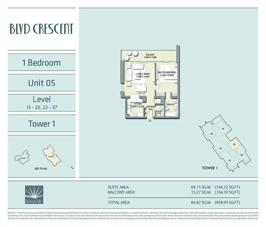 apartment for sale at BLVD Crescent T1 Downtown Dubai