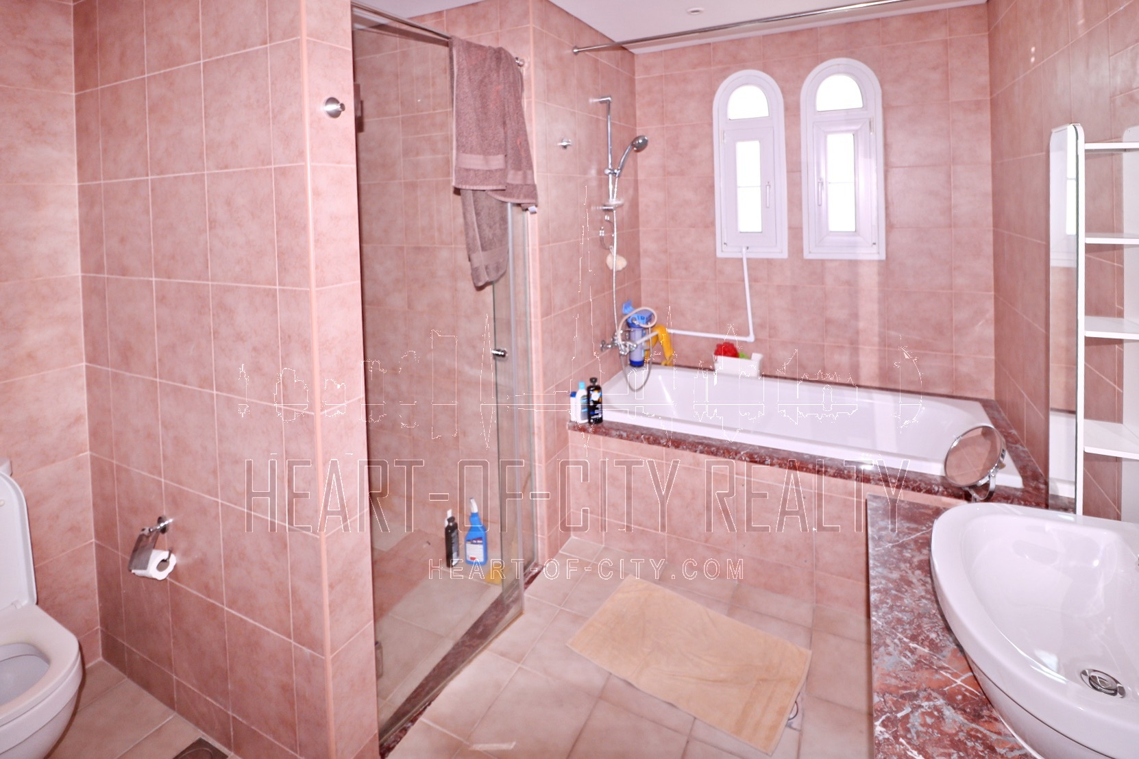 bathroom in Townhouse for rent/sale at JVC Dubai