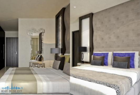 The room in The One at Jumeriah Village Circle at JVC