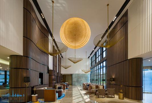 Lobby in Hotel apartment in TFG One Hotel in Dubai Marina