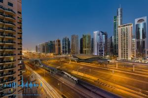 View from  TFG One Hotel in Dubai Marina