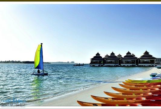 Beach in Anantara at Palm Jumeirah in Dubai