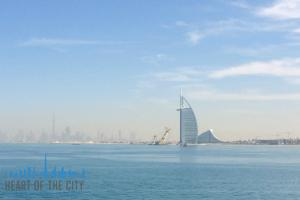 Dubai Skyline in Anantara at Palm Jumeirah