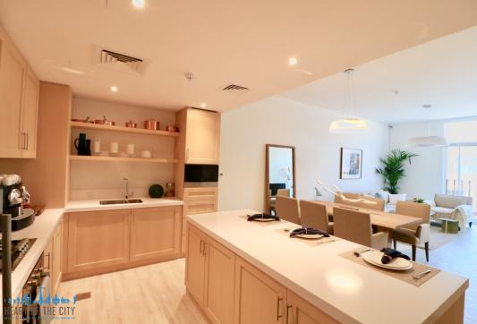 Kitchen in Apartment for sale in Belgravia at JVC in Dubai