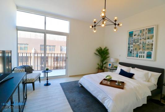 Bedroom in Apartment for sale in Belgravia at JVC in Dubai