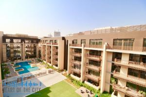 Swimming Pool in Belgravia at JVC in Dubai