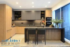 Kitchen in apartments for sale in Dt1 Downtown Dubai
