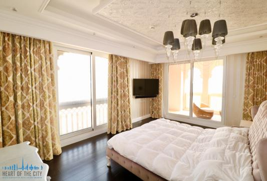 Master bedroom in Apartment for sale at Taj Grandeur Residences at Palm Jumeirah in Dubai