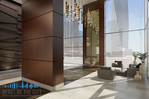 Lobby in Marina Gate II at Dubai Marina in Dubai