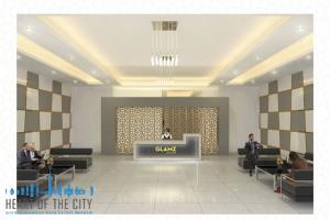 apartments for sale in GLAMZ by Danube at AL Furjan lobby