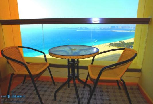 Balcony in Apartment for sale at Rimal JBR in Dubai