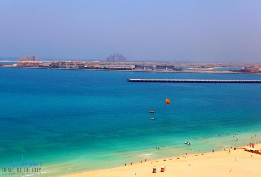 Seaview from Apartment for sale at Rimal JBR in Dubai