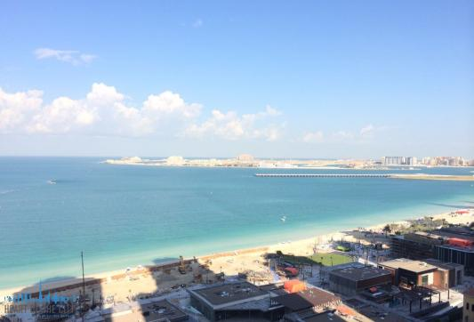 Beach near  Rimal JBR in Dubai
