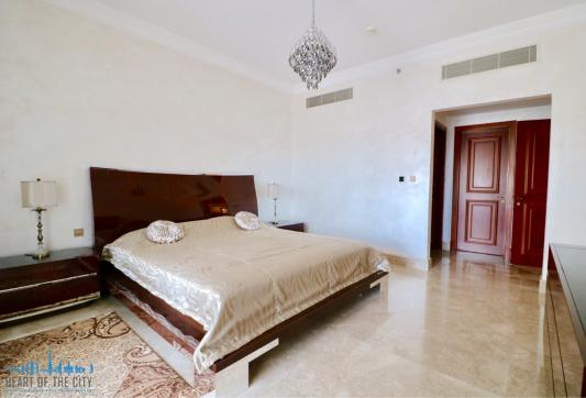 Apartment for rent Fairmont North at Palm Jumeirah-Master bedroom
