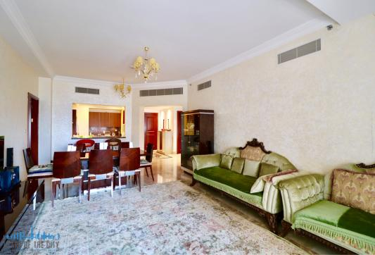 Apartment for rent Fairmont at Palm Jumeirah in Dubai-Living room