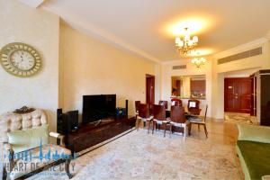 Apartment for rent Fairmont North at Palm Jumeirah -Living room