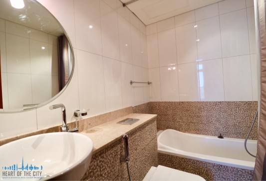 Bathroom in Apartment for rent at Dubai Sports City