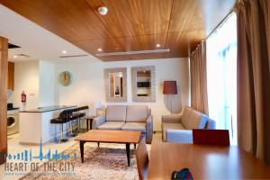 Living Room in Apartment for rent at Dubai Sports City