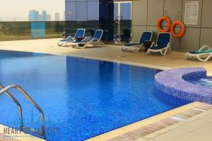 Swimming pool at The Spirit at Dubai Sports City