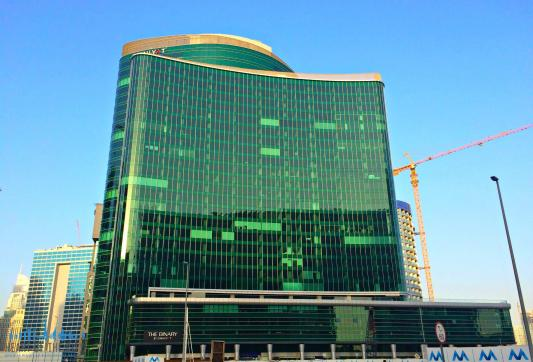 Binary by Omniyat Business Bay in Dubai