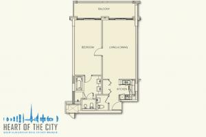 Floor plan of apartment for sale in Anantara at the Palm Jumeirah, Dubai
