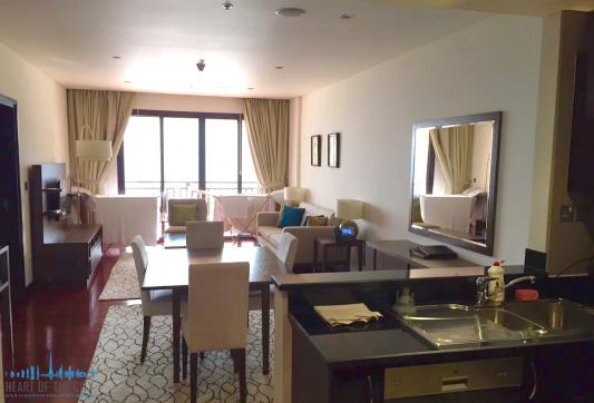 Dining room in Apartment for rent in Anantara Residences South
