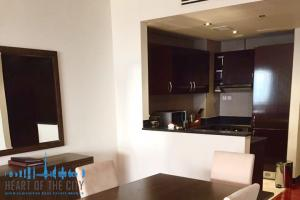 Dining room in Apartment for rent in Anantara Residences South at Palm Jumeirah