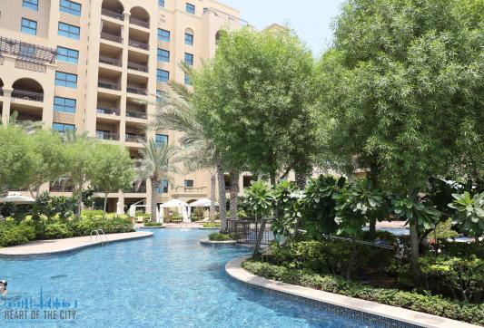 Apartment for rent in Fairmont Residences South at Palm Jumeirah in Dubai