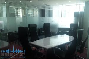 Meeting Room in office in Liberty House at DIFC in Dubai