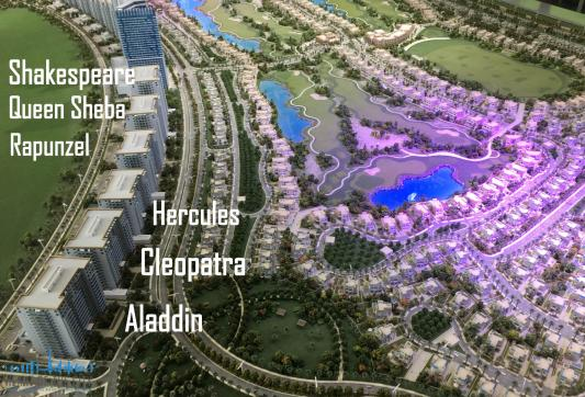 apartments for sale at the Living Legends in Dubai Land at the MAP