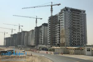 Towers in the Living Legends in Dubai Land