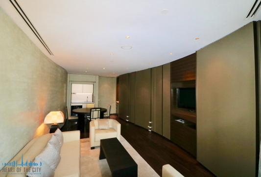 Apartment for rent in Armani Residence