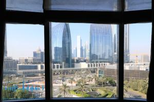 City view from Apartment in Armani Residence - Burj Khalifa