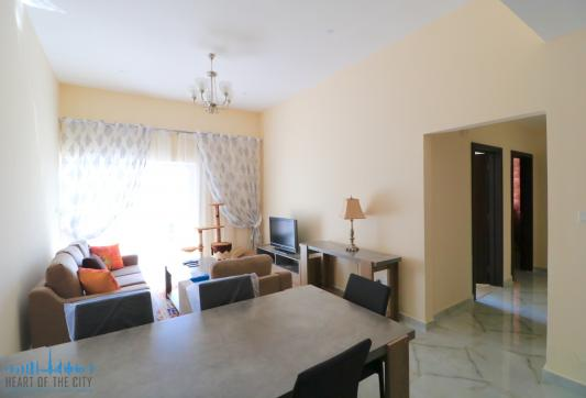 Living room in Apartment for sale in Champion-1 at Dubai sports city
