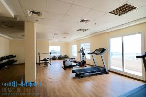 Fitness in Champion-1 at Dubai sports city