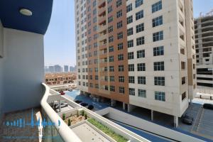 View from apartment for sale in Champion-1 at Dubai sports city