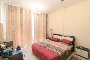 Master bedroom in Apartment for sale in Champion-1 at Dubai sports city
