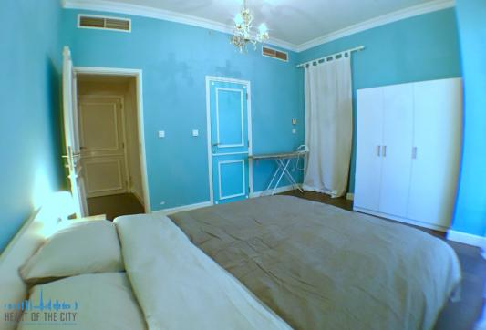 Bedroom in holiday apartment for rent at JBR Dubai